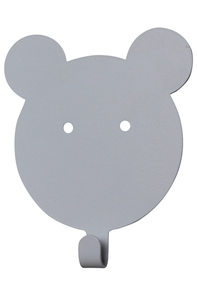 Wall hook Teddy - white