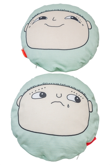 Alfons Åberg 'Happy/Sad' huggable cushion